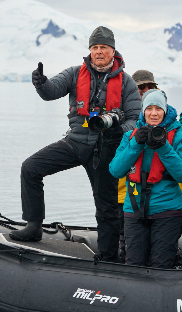 Art Wolfe, intrepid explorer and fabulous instructors guide the group to the enxt great shot.