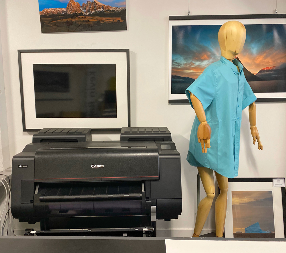 The Canon Pro2000 24 inch wide printer