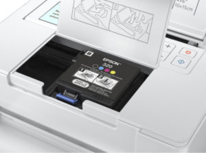 Ink cartridge is simple easy to replace.