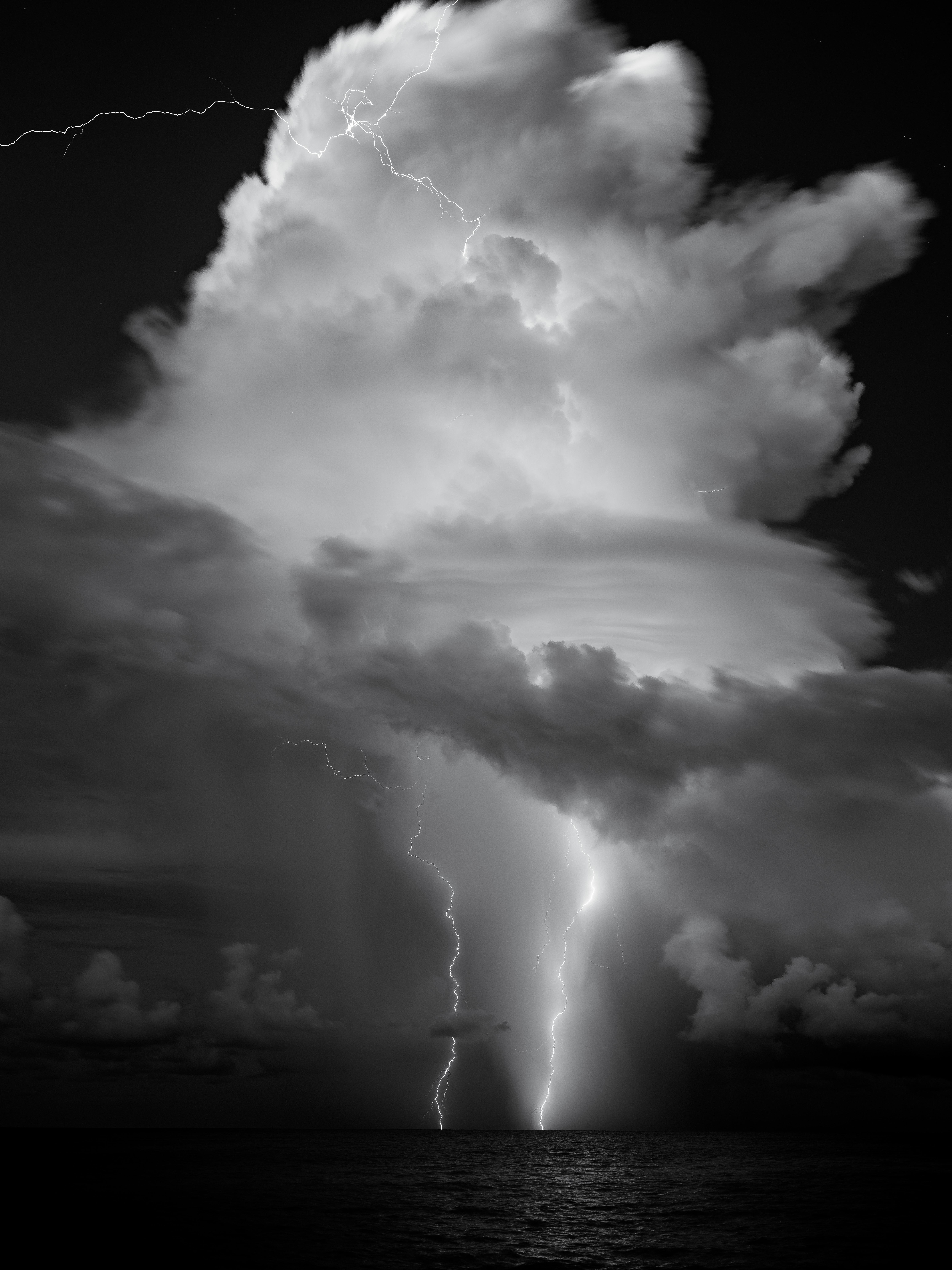 Lightning Strike Over Sanibel