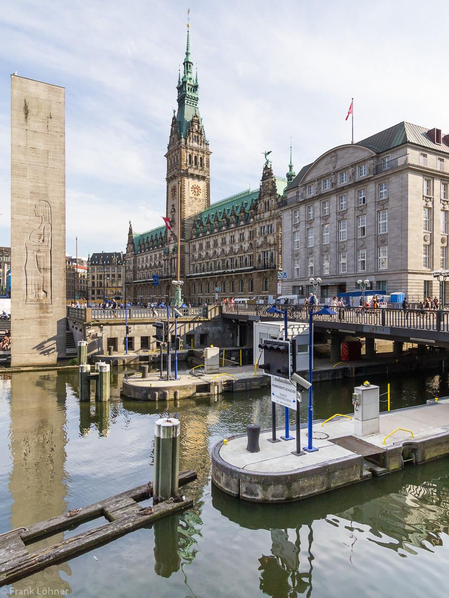 Hamburg City Scene