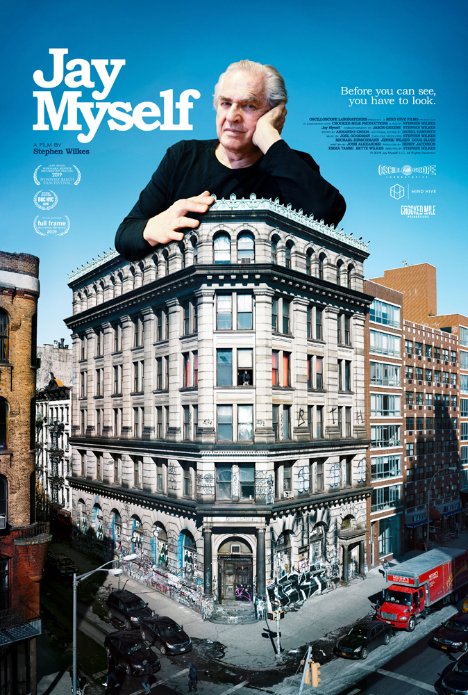 Movie poster for Stephen's Jay Myself movie.