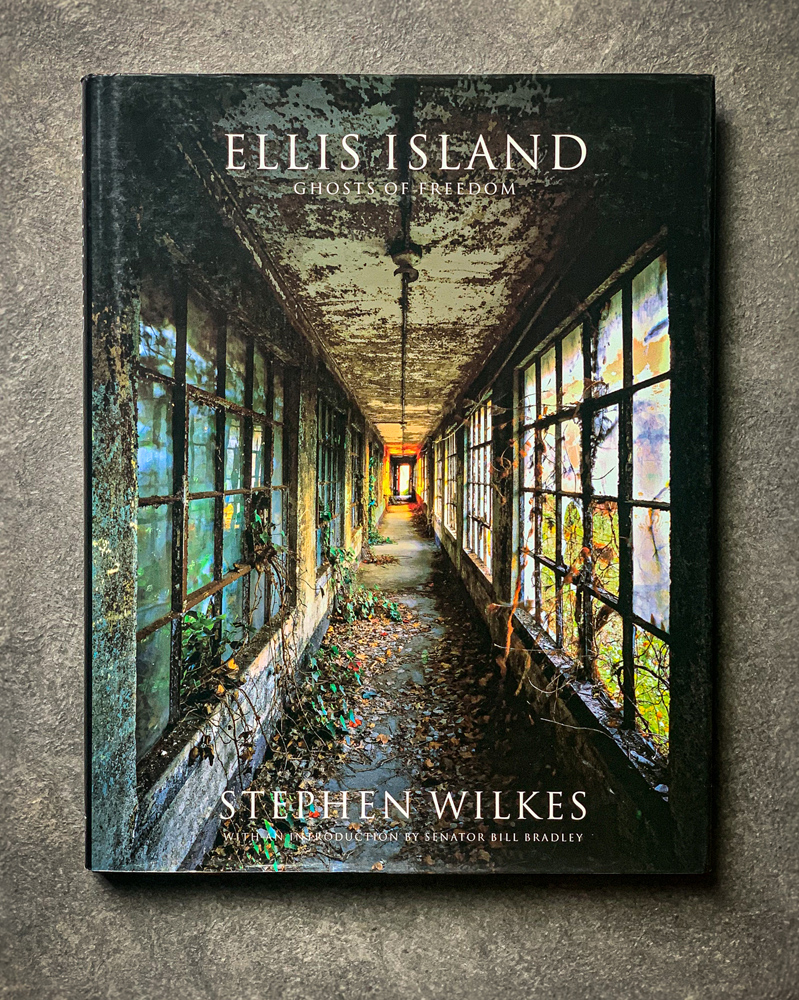 Ellis Island: Ghosts of Freedom by Stephen Wilkes with an introduction by Bill BradleyPublished by W. W. Norton & Company; 1st Edition, October 17, 2006