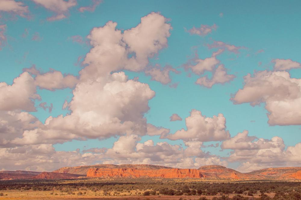 New Mexico Cloudscape, 2019 Digital Facture photograph