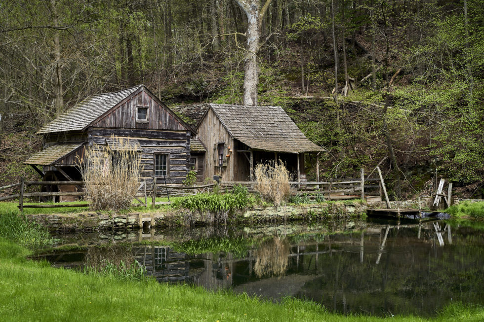Old Mill and Pond