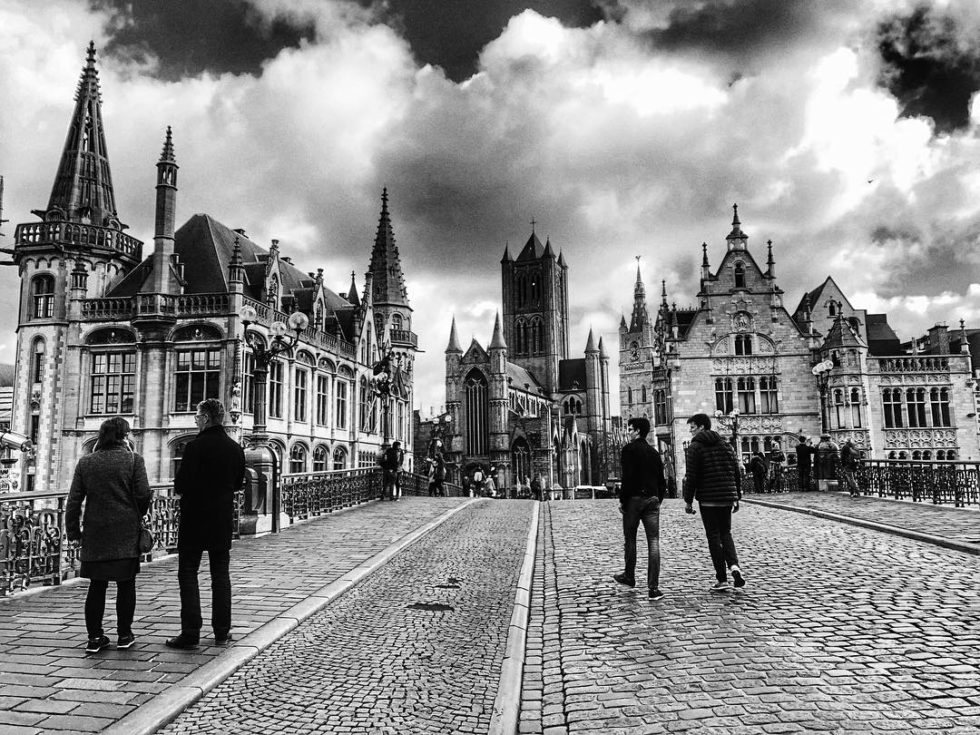 Ghent, Belgium – A View of Daily Life