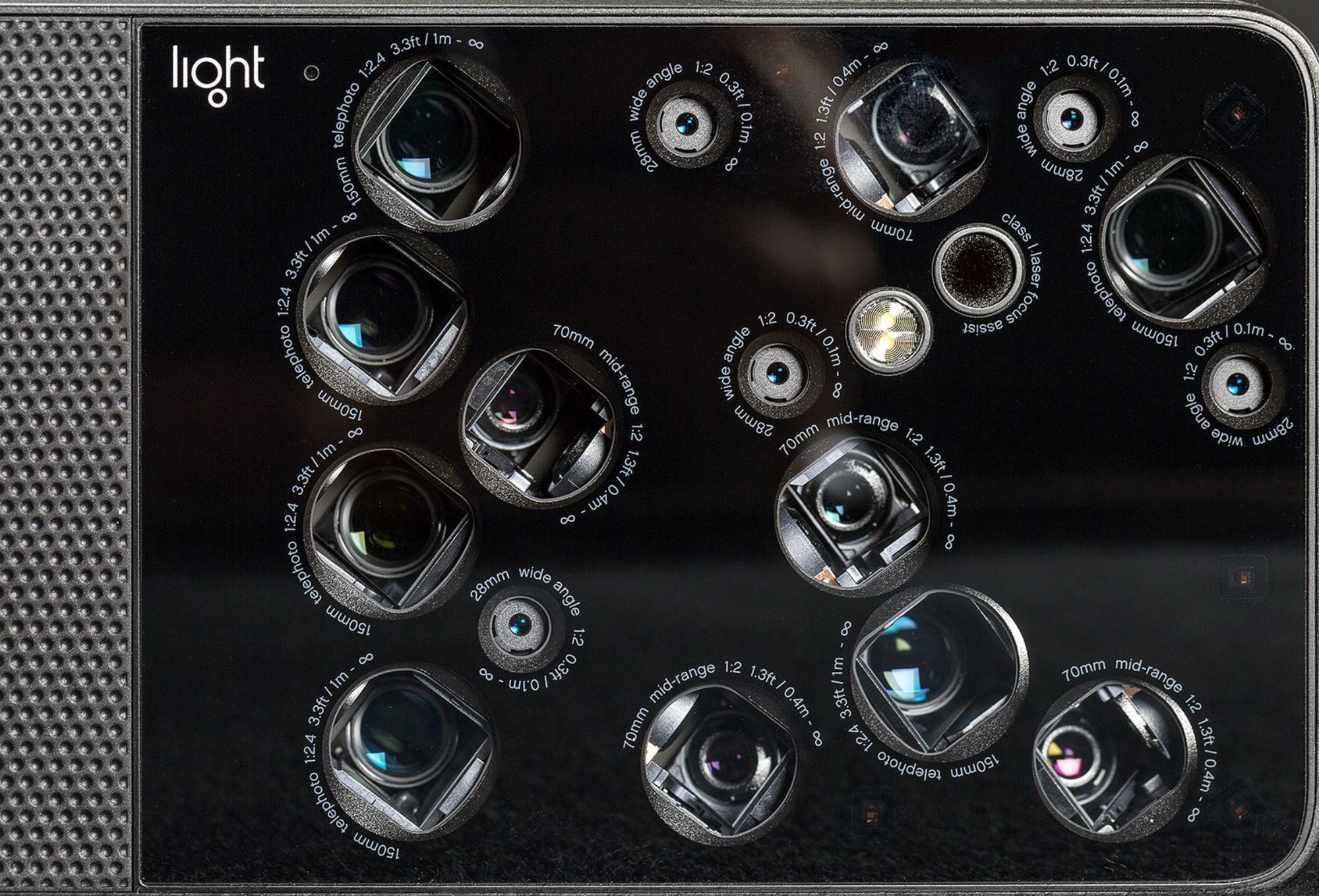 The 12 lenses fo the Light 16