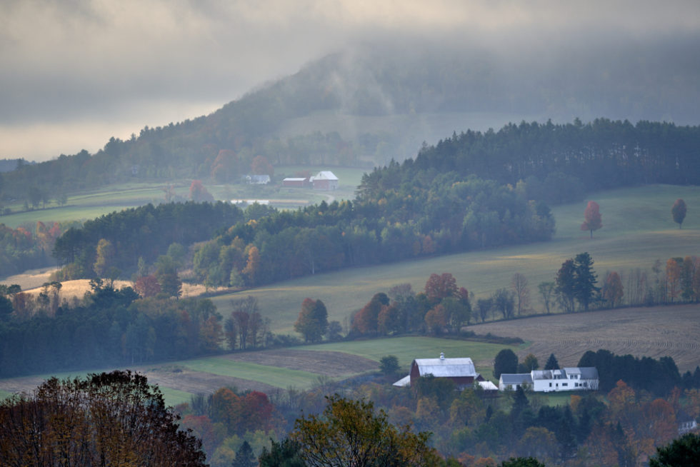 Fall Morning in Vermont