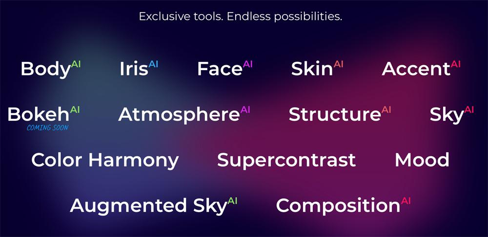 Features Of Luminar AI