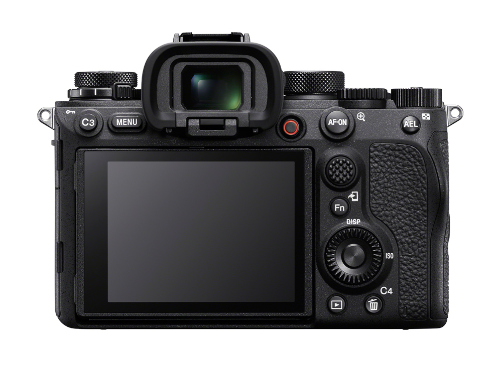 The rear of the Sony a1