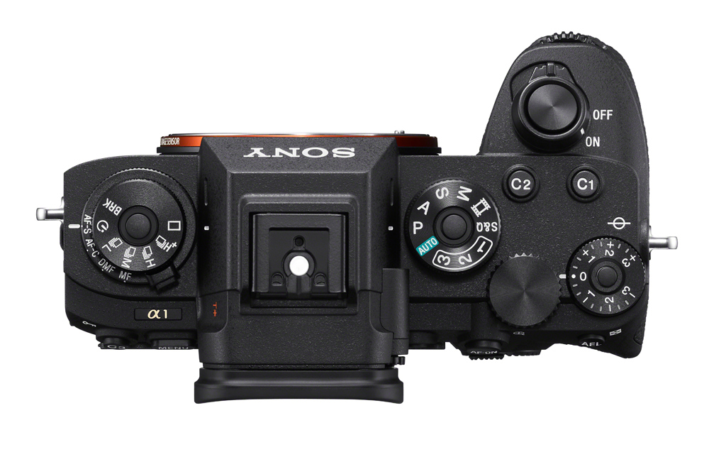 The top of the Sony a1