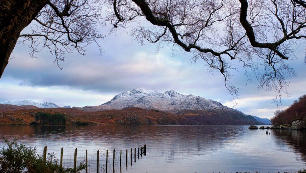Beinn Airigh Charr and Loch Maree