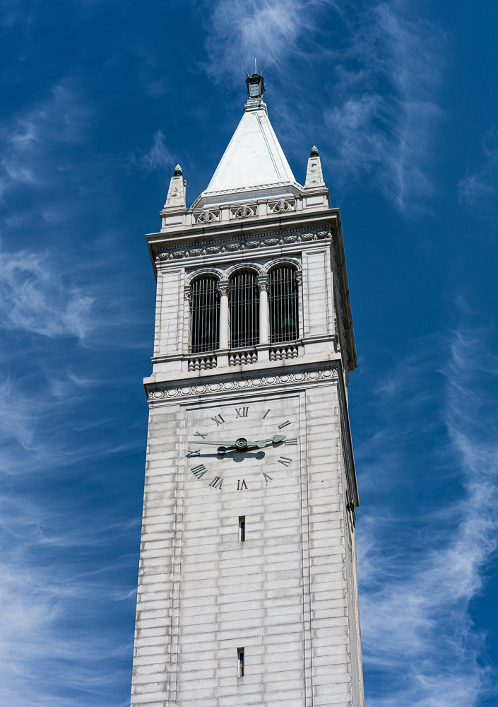 The Campanile Tower, U.C. Berkeley Campus, 2017