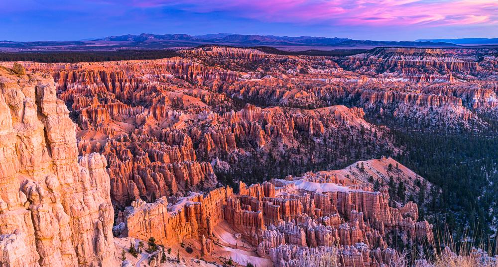 Sunrise Over Bryce Canyon, 2012