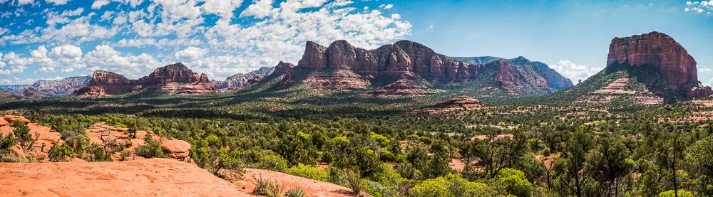 "Red Rock Formations, East Sedona, AZ, 2015"""