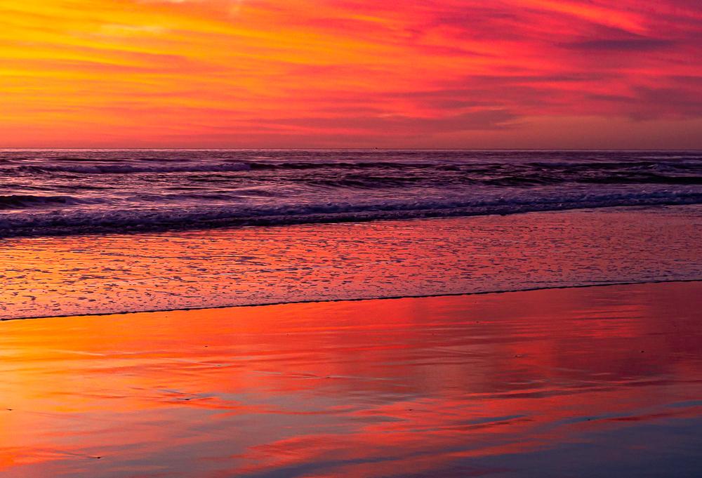 San Elijo State Beach, CA