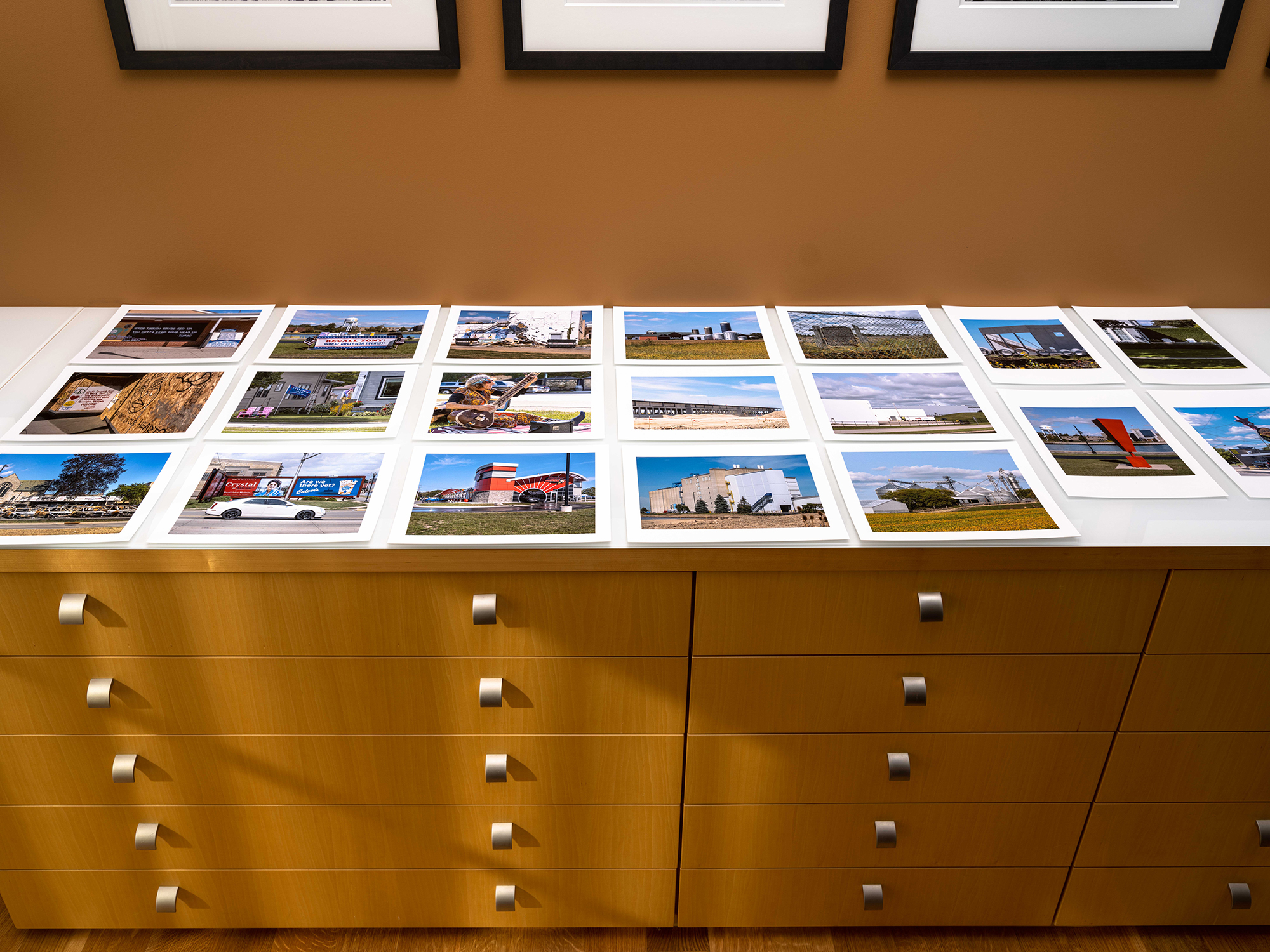Sometimes the Easiest Way to Sequence Images is on a Counter or Table