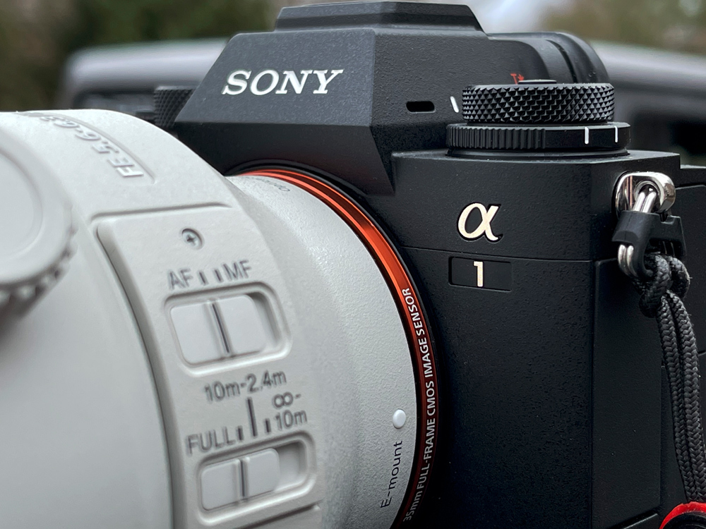 Front photo of the Sony a1