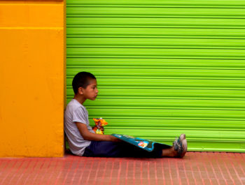 Behind The Photograph – Boy In The Doorway