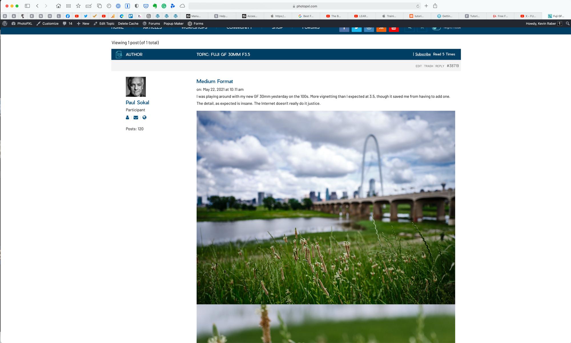 screen shot as it appears in forum