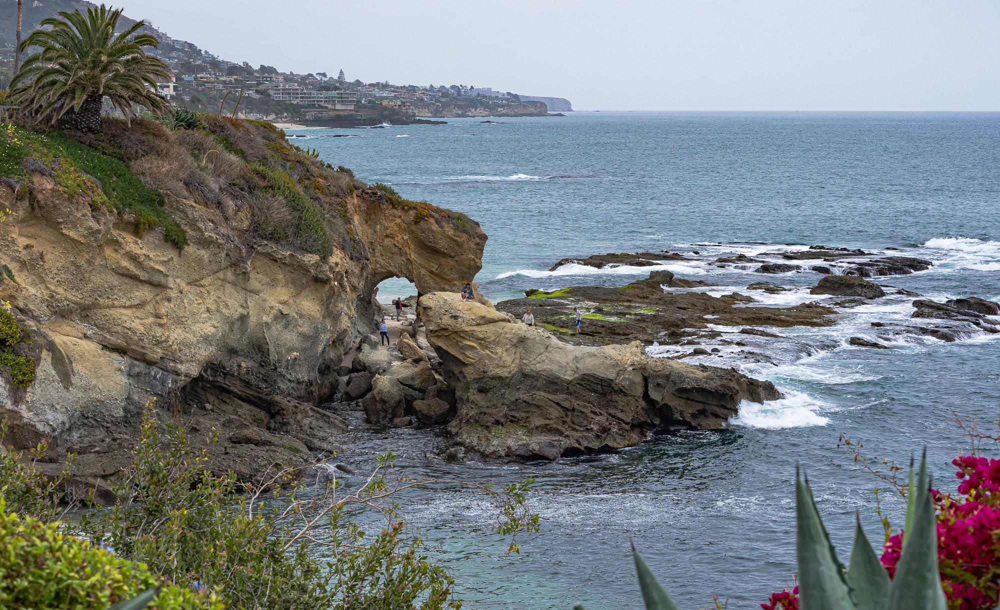 Laguna Beach Coastline from Montage Hotel Grounds
