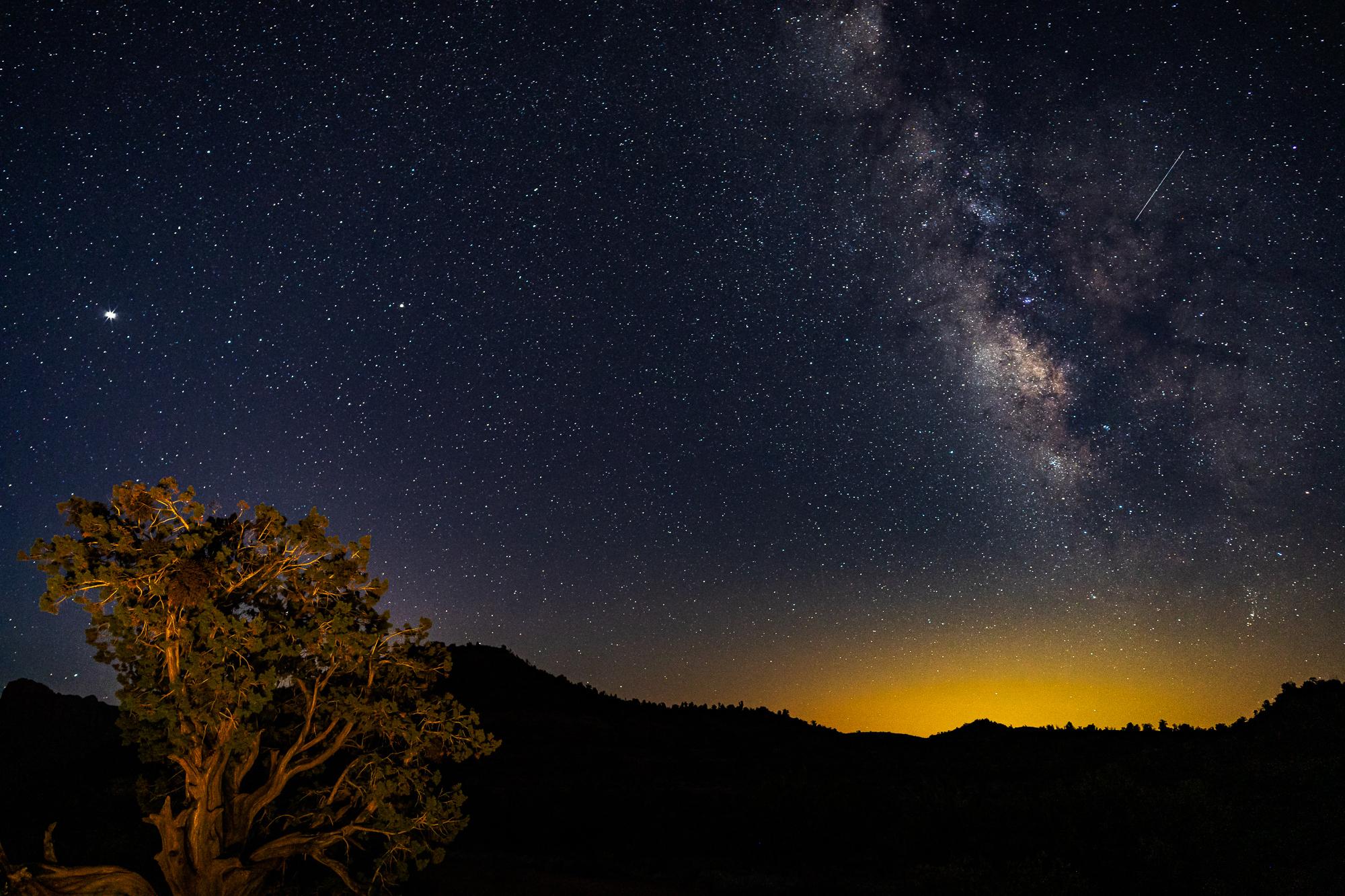 """Sedona Night Sky"""