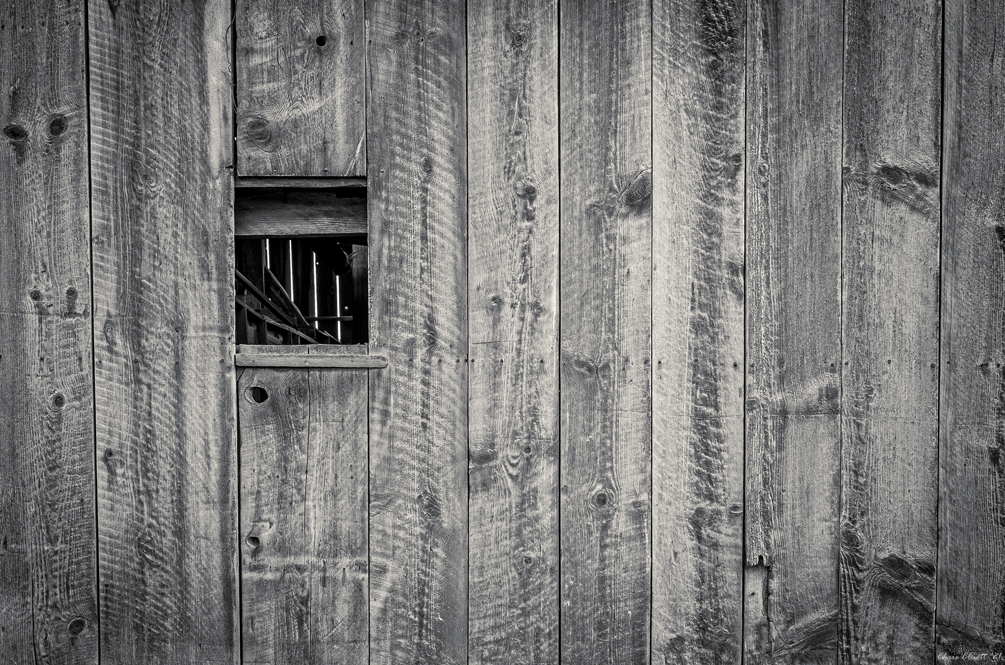 A peek into the past life of an old barn in the Palouse.