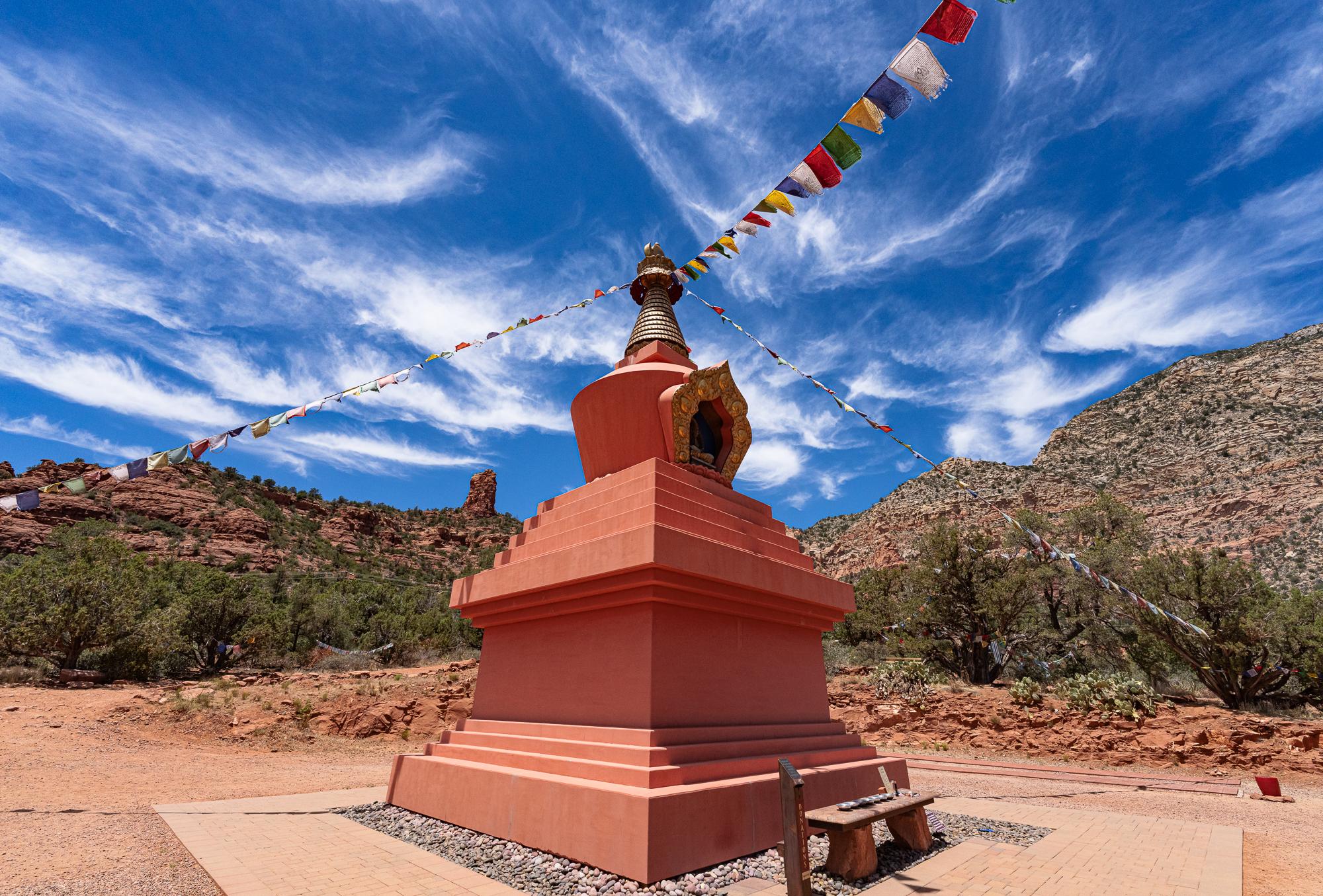 Amitabha Buddhist Stupa, Sedona, AZ