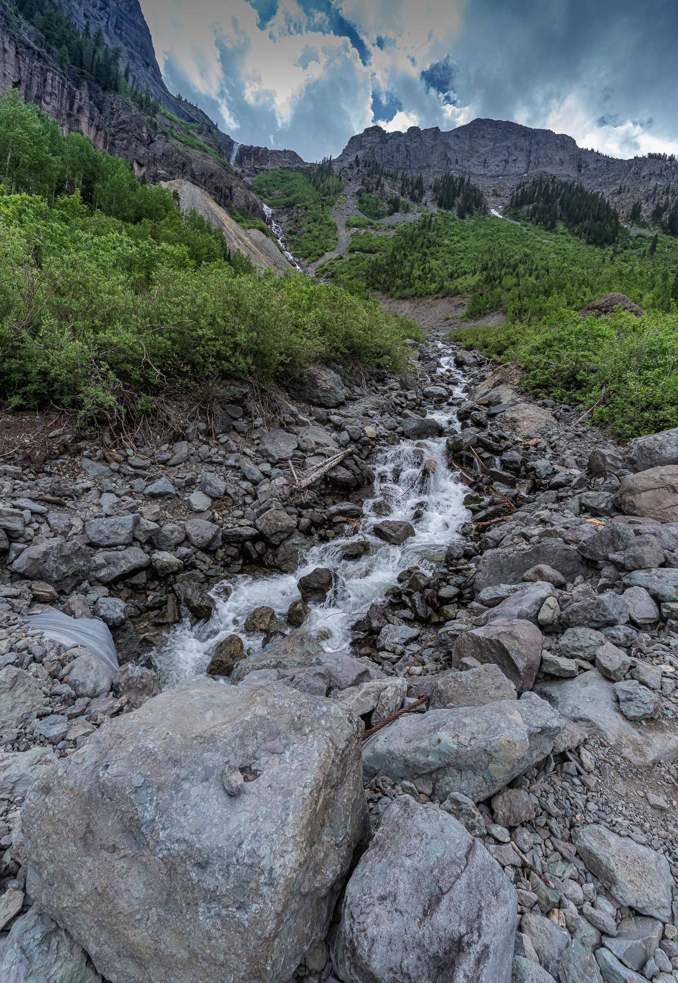 Ingram Falls & Creek, Telluride, CO